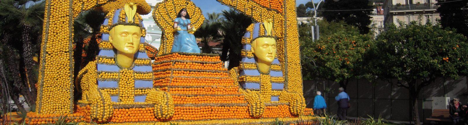 Carnaval de Nice et Fêtes des Citrons à Menton